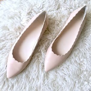 COLE HAAN Grand.os Scalloped Flats